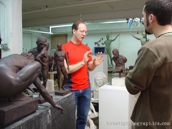 A visit to Sabin Howard's studio, from Adam Matano's blog