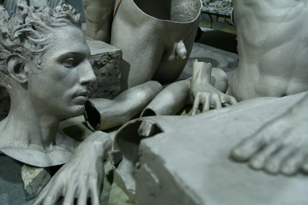 APOLLO by Sabin Howard, in pieces