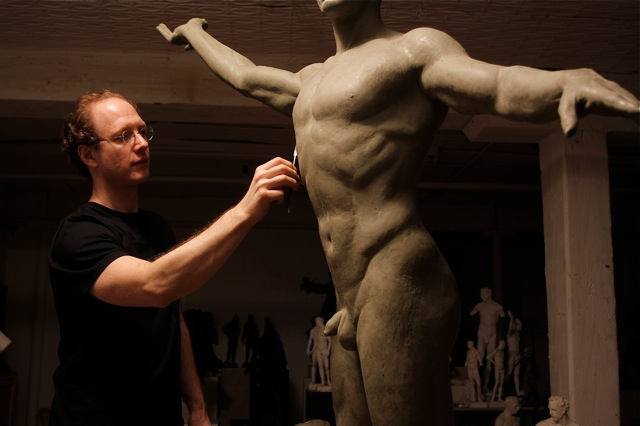 FILM ABOUT SCULPTOR SABIN HOWARD BY ROBERT HORVATH