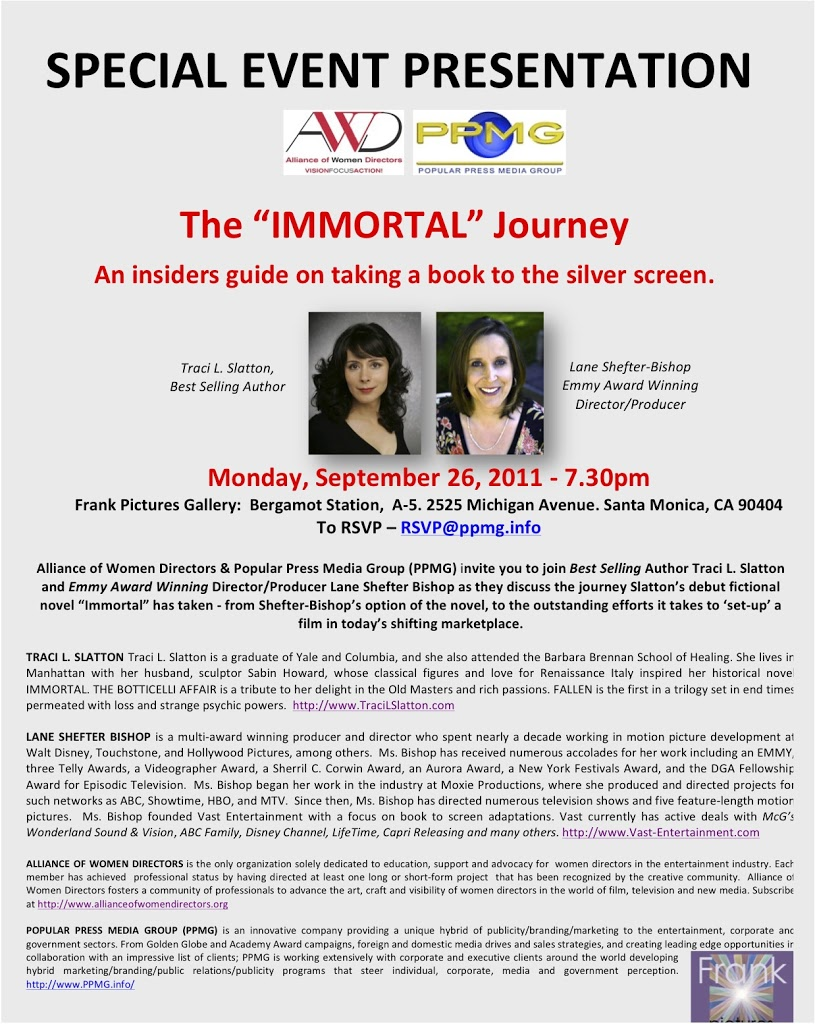 IMMORTAL event in Santa Monica, CA 9/26/11