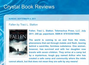 Crystal Book Reviews