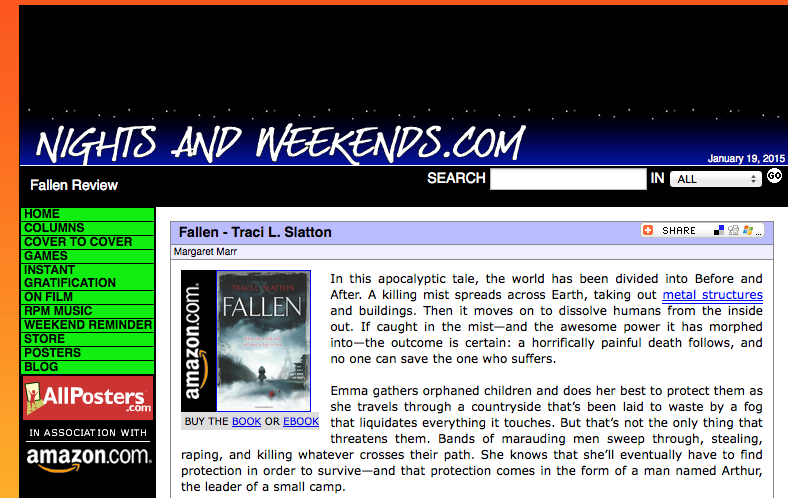Nights And Weekends – Fallen Review