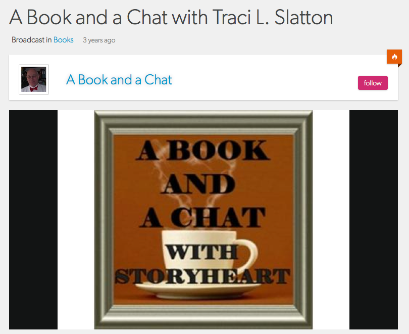 Radio Program: A Book and a Chat hosted by Barry Eva