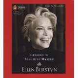 LESSONS IN BECOMING MYSELF by Ellen Burstyn