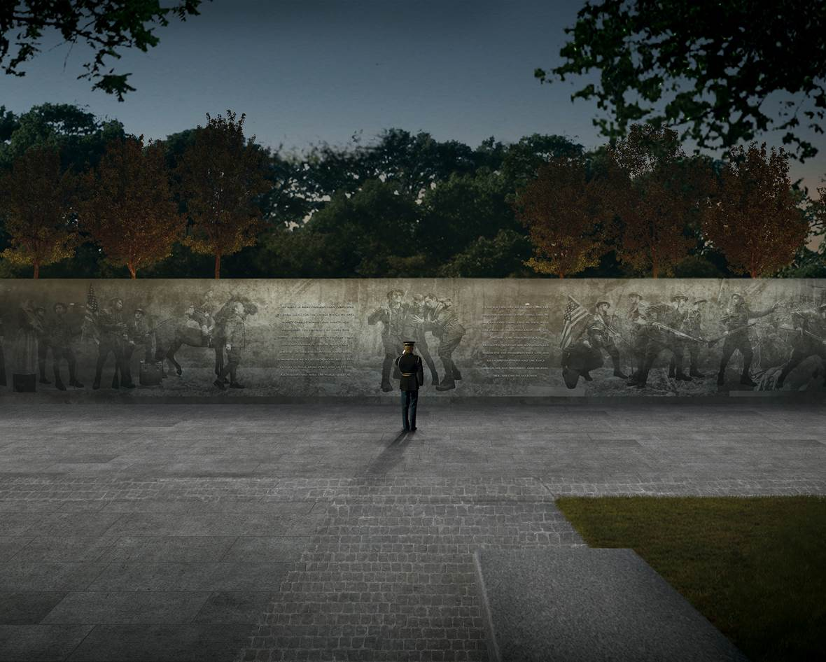 Sculptor Sabin Howard and Architect Joe Weishaar win WW1 Memorial Commission