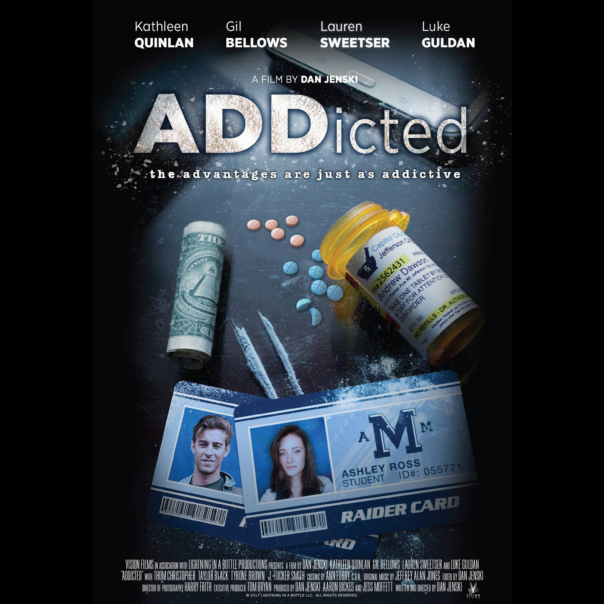 From HuffPo: Review of ADDicted, A Sensitive Film About Adderall Abuse