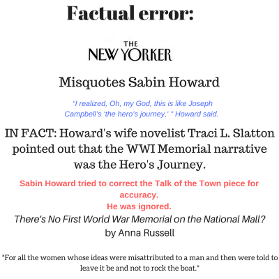 Factual Error in The New Yorker: Is this how fake news starts?