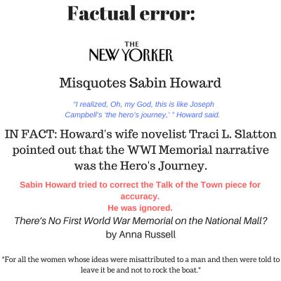 New Yorker Factual Error