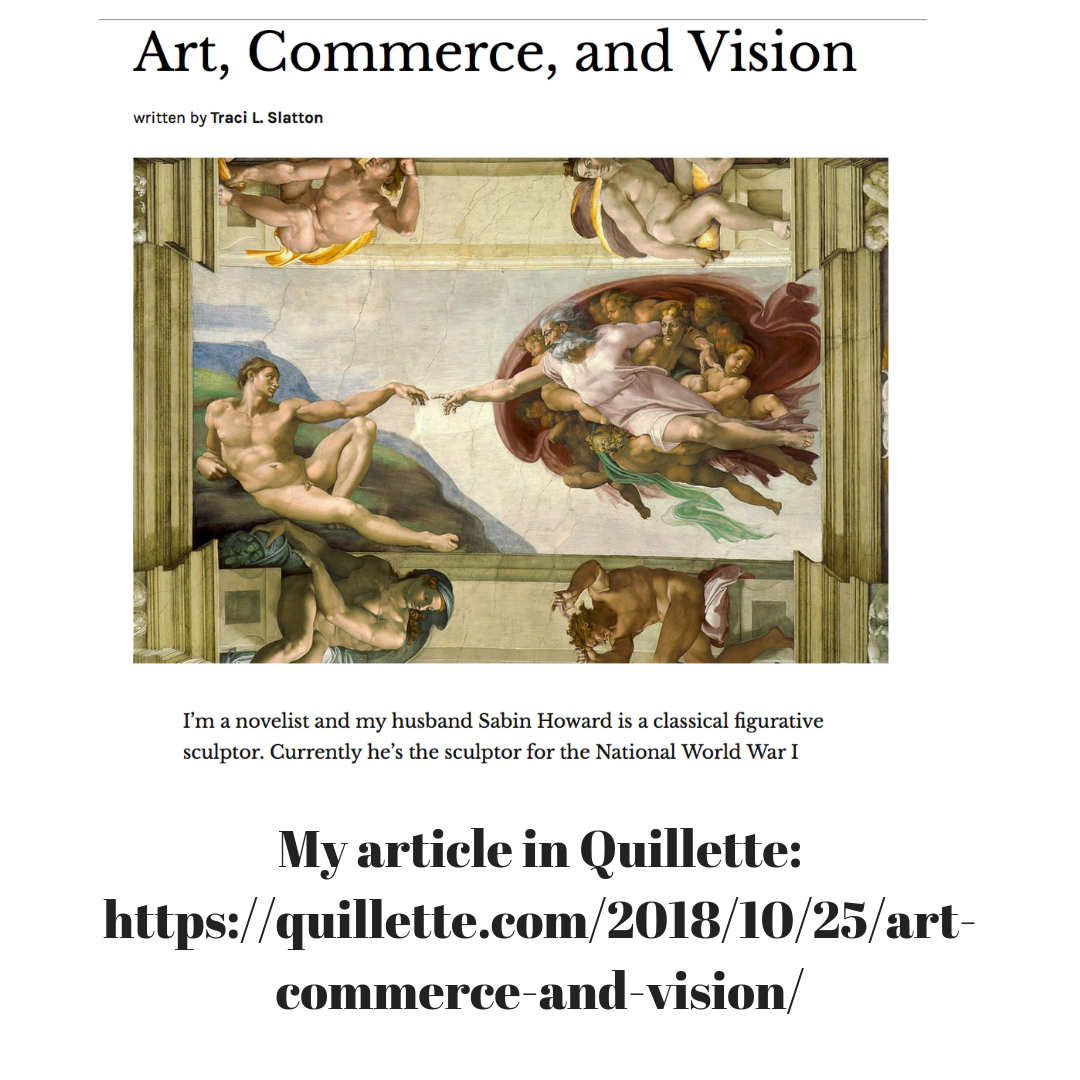My Article in Quillette Magazine: Art, Commerce, and Vision
